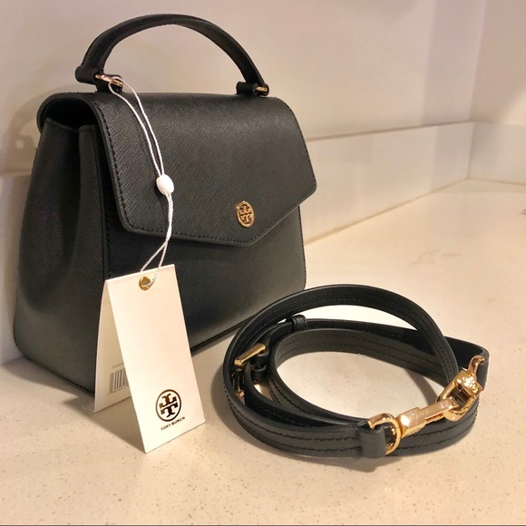 f30861b4cdcc Handbags - 🖤TORY BURCH ROBINSON SMALL TOP-HANDLE SATCHEL🖤